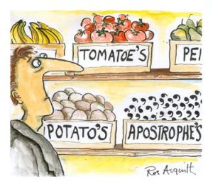greengrocer's apostrophe