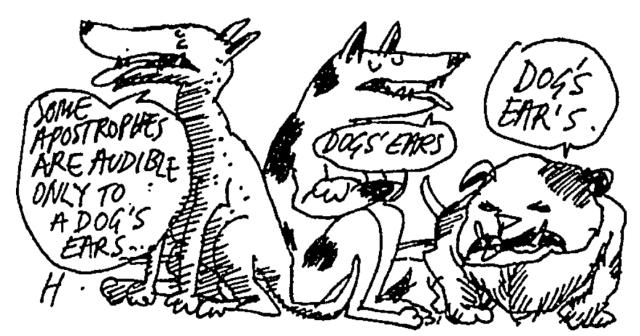dog's ear's