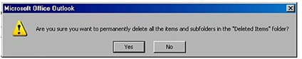To permanently delete older version